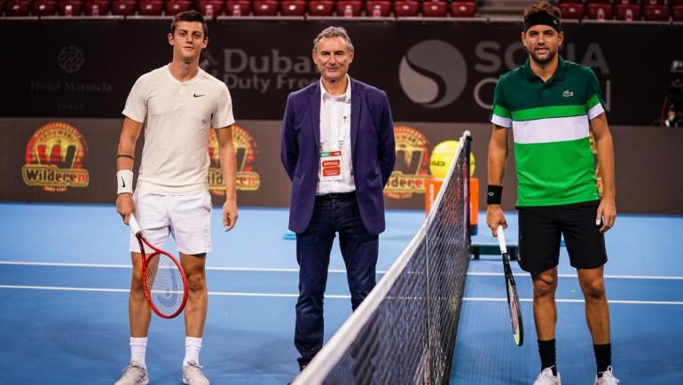 Александър Лазаров отстъпи пред Филип Краинович на старта на Sofia Open 2021