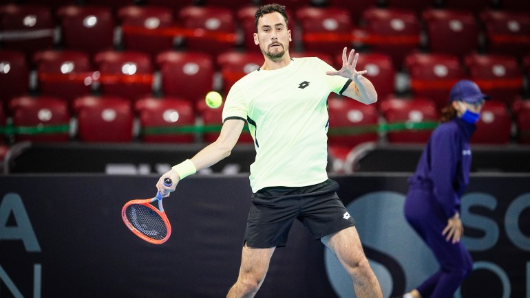 Mager first to reach QF at Sofia Open 2021