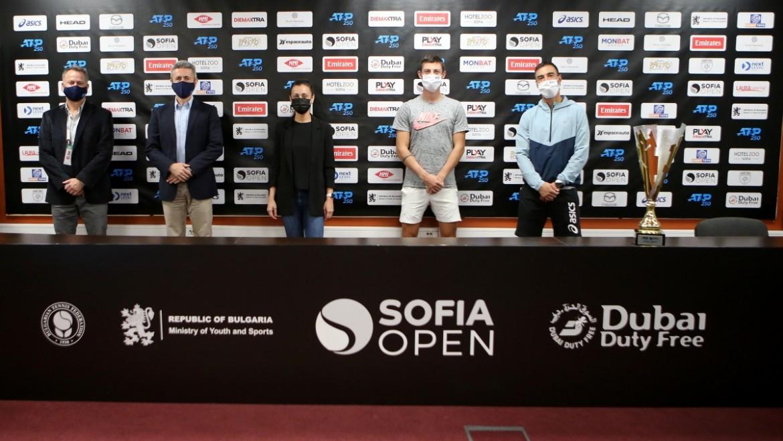 Sofia Open 2021, жребий, снимки