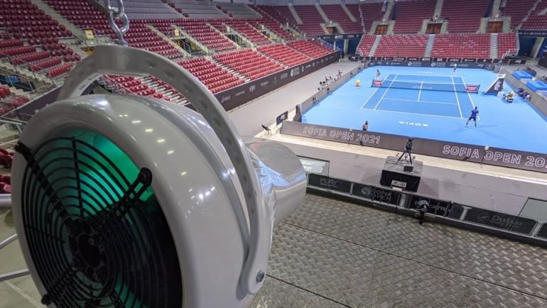 Sofia Open се провежда при максимално безопасна среда срещу COVID-19