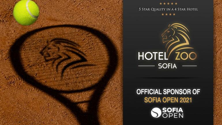 Hotel ZOO Sofia – официален спонсор на Sofia Open 2021