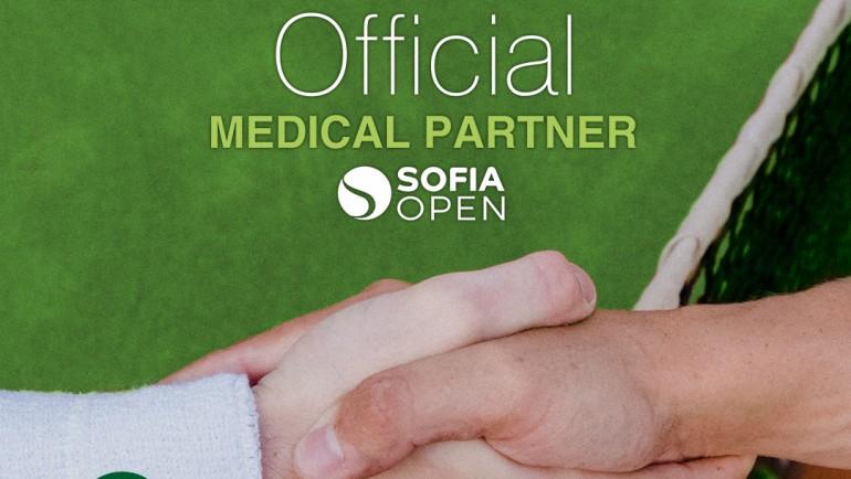 """Медицински комплекс """"Софиямед"""" отново е официален партньор на Sofia Open"""