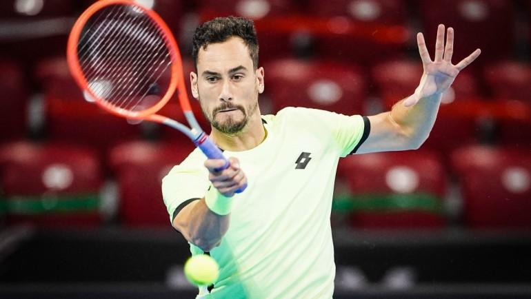 Джанлука Магер е първият четвъртфиналист на Sofia Open 2021