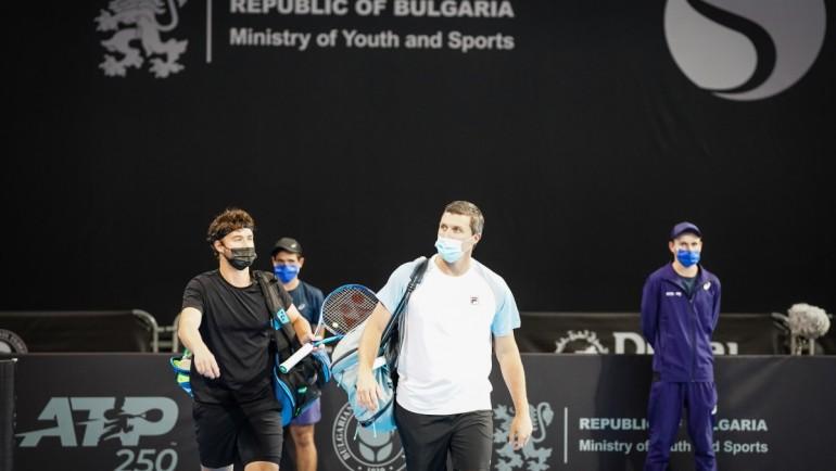Maiden title for tandem Jonny O'Mara and Ken Skupski at Sofia Open