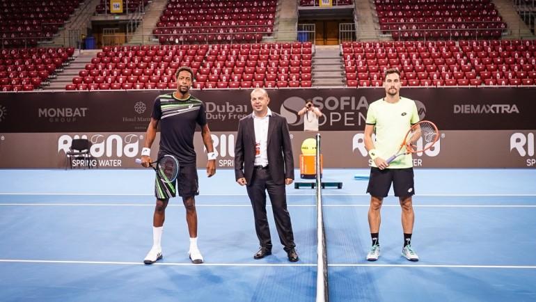 Монфис се завърна на Sofia Open с експресна победа