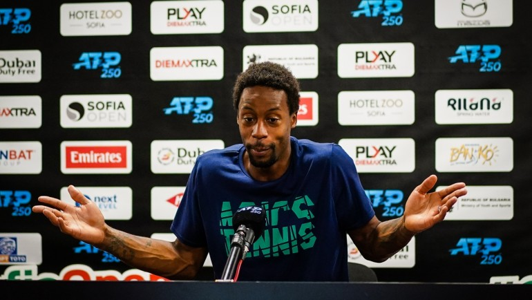Gael Monfils: I feel sorry that this beautiful Arena is empty!