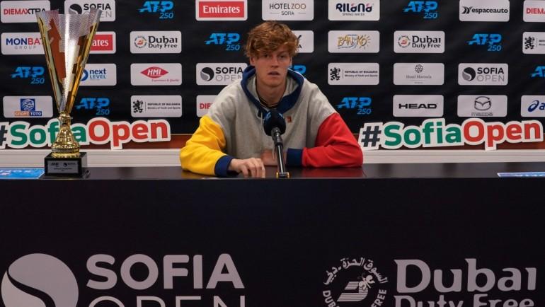 Двукратният шампион Синер: Надявам се да се връщам в София още много пъти